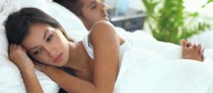 dort avec son ex quand elle est en couple
