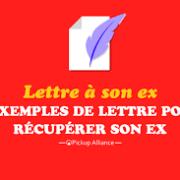lettre pour récupérer son ex